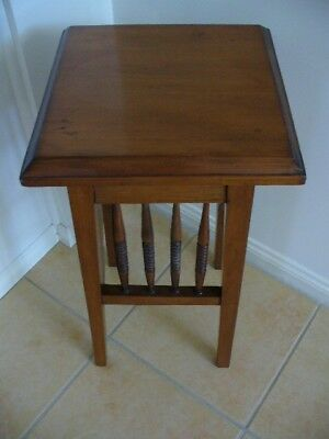 Antique Wooden Side Table/Stand Circa 1920 Professionally Restored Exc Cond