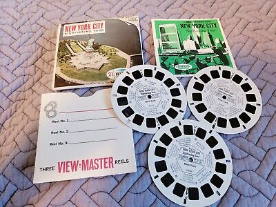 Vintage Sawyers Viewmaster A 654 New York  City Reels