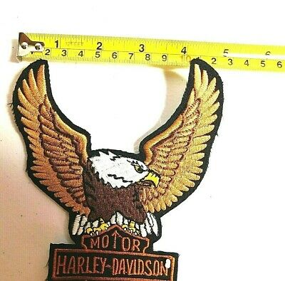 Harley-Davidson Brown Up-wing Eagle Patch