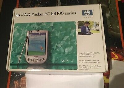Hp Ipaq Pocket Pc H4100 Open Box Working Condition Must Read