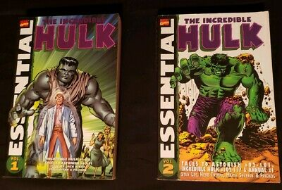 Marvel Essential TPB: The Incredible Hulk Vol 1 & 2