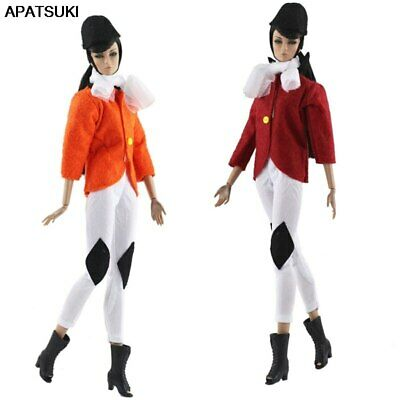 "1set Fashion Doll Clothes For 11.5"" 1/6 Doll Outfits Cosplay Riding Costume Coat"