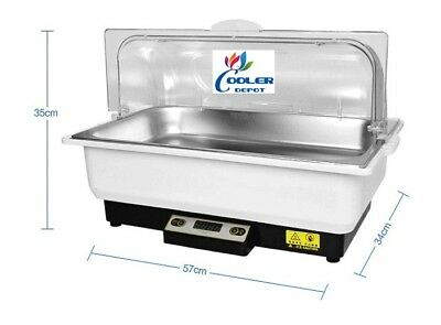 NEW Commercial One Pan Table Counter Top Buffet Electric Warmer Server Catering
