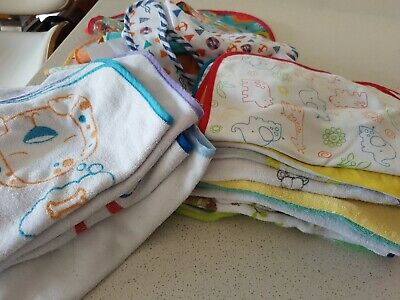 Assorted Baby Bibs - Used