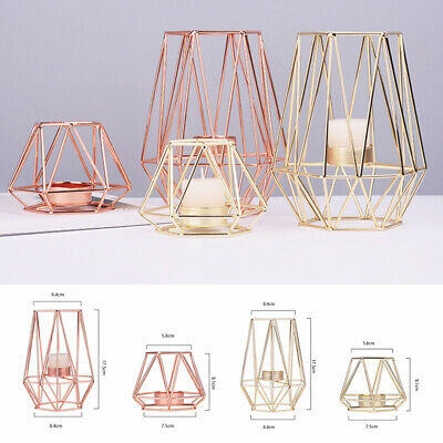 3D Nordic Style Geometric Candlestick Wall Art Candle Holder Home Decoration