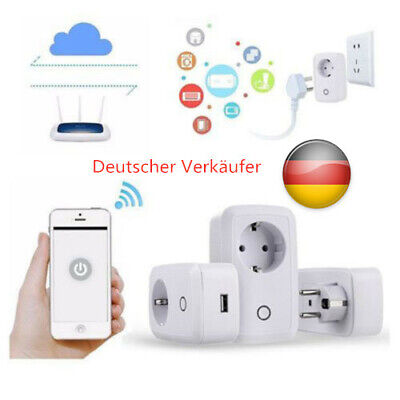 DE Sonoff S20 Fernbedienung Smart Socket WiFi Smart Socket EU Standard 2200W xcv