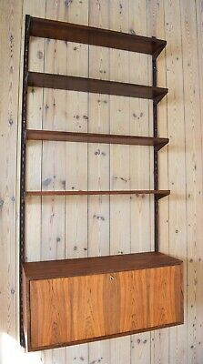 Danish Mid-Century Rosewood FM Shelving System by Kai Kristiansen, 1960's.