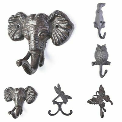 Metal Animal Hooks For Wall Door Storage Coat Hooks Vintage Style The Funny