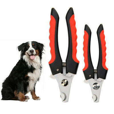 Dog Cat Nail Cutter Claw Clippers Trimmer Pet Scissors Small Large File Grooming