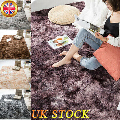Shaggy Area Rugs Floor Carpet Bedroom Living Room Mat Soft Large Rug Home Decor
