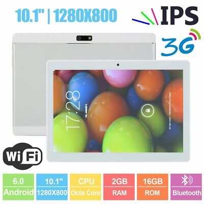 10.1 pollici 2GB+16GB Tablet PC bluetooth Android 6.0 Quad 4 Core WIFI 2MP WIFI
