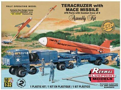 Revell Monogram 1:32 Scale Teracruzer with Missile Model Kit