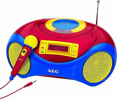 AEG SR 4363 Stereoradio Stereo USB CD/MP3 Player Mikrofon Senderspeicher Kinder