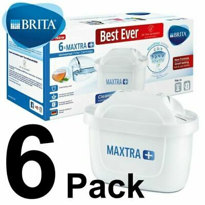 BRITA MAXTRA+ Water Filter Cartridge Refill With Microflow Technology 6 Pack
