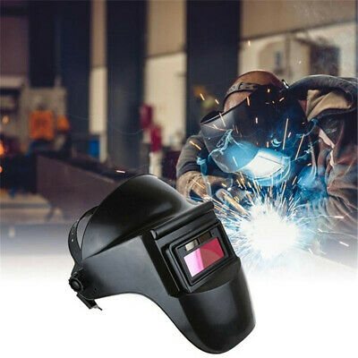 Pro Solar Powered Auto Darkening Welding Helmet Mask Adjustable Shade Welder Cap
