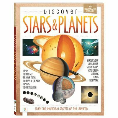 NEW Discover Stars & Planets Educational Kids Space STEM Science Learning Book!