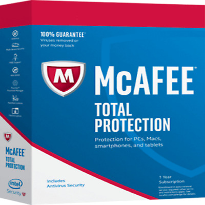 McAfee Internet Security 2019 / 1 Device / 6  Years licence Anti Virus Software