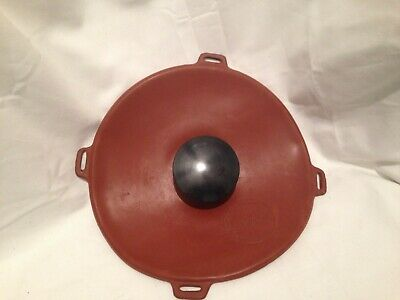 "Vintage 9"" Round Rubber Hot Water Bottle/Ice Pack"
