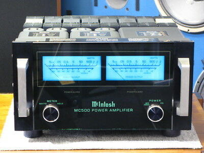 McIntosh MC500 Power Amplifier Faceplate and Meter DEL Bulbs Lamps lights Filter