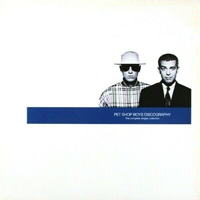 Pet Shop Boys - Discography (The Complete Singles Collection, 2003) double vinyl