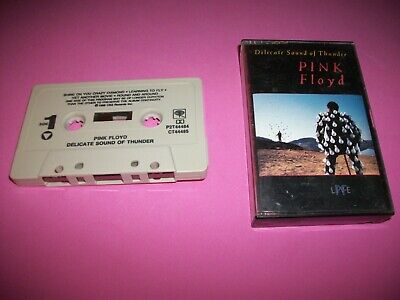 Pink Floyd Delicate Sound Of Thunder Cassette Tape -   Tested