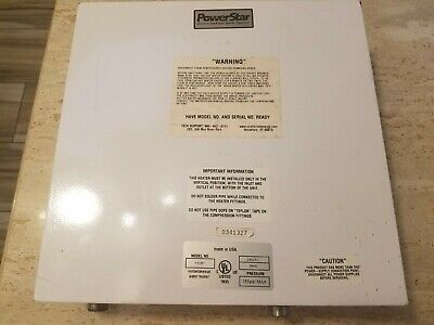 Bosch Powerstar Electric Tankless Water Heater Ae125 Brand