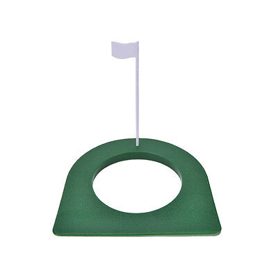 GOLF In/Outdoor Regulation Putting Cup Hole Putter Practice Trainer Aid Flag RAC