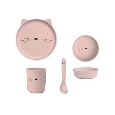 Liewood - Bamboo Plate Set - Rose Cat