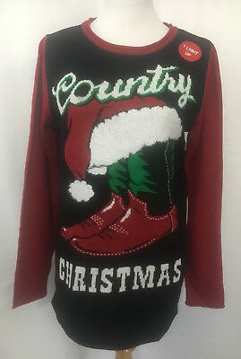 best authentic 38757 22041 WOMEN'S COUNTRY CHRISTMAS Ugly Sweater Cowboy Boots Holiday ...