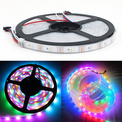 5M WS2813B Strip LED Lights 5050 RGB 30 LED/M IC Individual Addressable DC 5V