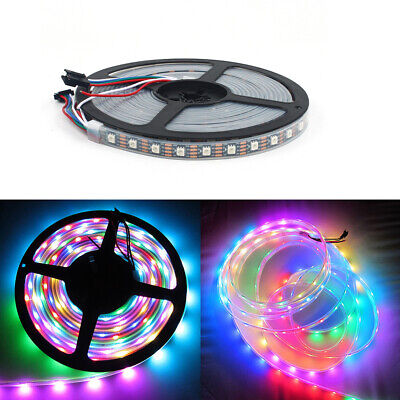 5M WS2813B Strip LED Lights 5050 RGB 30/60 LED/M IC Individual Addressable IP68