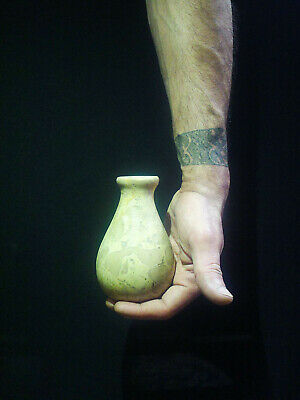 EGYPTIAN ANTIQUES ANTIQUITIES Pharaoh Pharaonic Small Stone Vase 3150-2514 BC