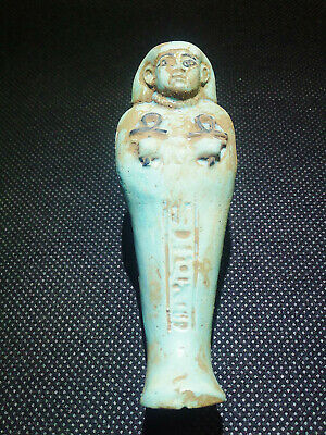 EGYPTIAN ANTIQUES ANTIQUITIES Ushabti Shawabti Shabti Shabty 1570-1093 BC