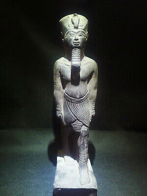 EGYPTIAN ANTIQUES ANTIQUITY King Amenhotep III Statue Figure 1386-1349 BC
