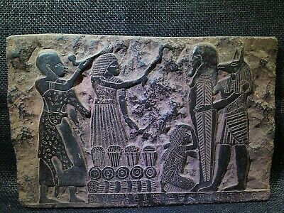 EGYPTIAN ANTIQUES ANTIQUITY Anubis Mouth Ritual Stela Stele 1306-1292 BC