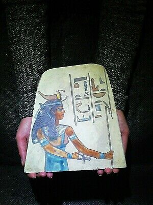 EGYPTIAN ANTIQUES ANTIQUITY Serket Scorpion Goddess Stela Stele 1189-1077 BC