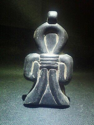 EGYPTIAN ANTIQUES ANTIQUITY Amulet Amuletic Figure Pendant 1549-1136 BC