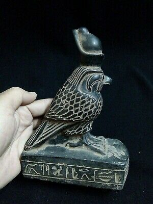 EGYPTIAN ANTIQUES ANTIQUITY Horus Falcon Lord of The 2 Lands 1570-1200 BC