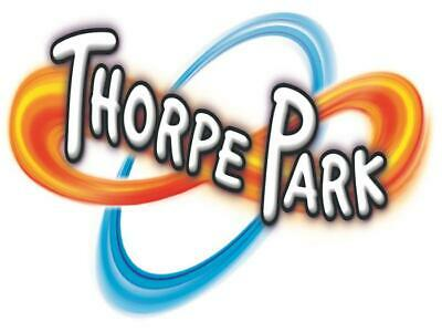 2 x Thorpe Park E-Tickets - Sunday 8th September - See Details - Trusted Seller