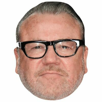 Young Celebrity Mask Ray Winstone Flat Card Face
