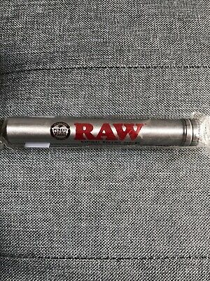 Raw Aluminium Storage Tube Cone Holder Torpedo With Cork Gasket To Keep Smell In