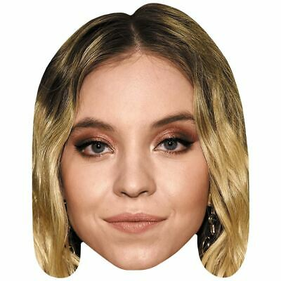 Sydney Sweeney (Make Up) Celebrity Mask, Card Face