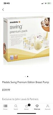 Brand new - Unopened Medela Swing Breast Pump with Calma Teat