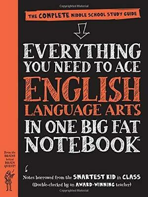 Everything You Need to Ace English Language Arts in One Big Fat Notebook: The