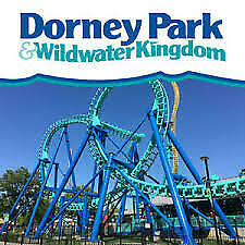 Dorney Park Admission ANY DAY ticket FREE SHIPPING
