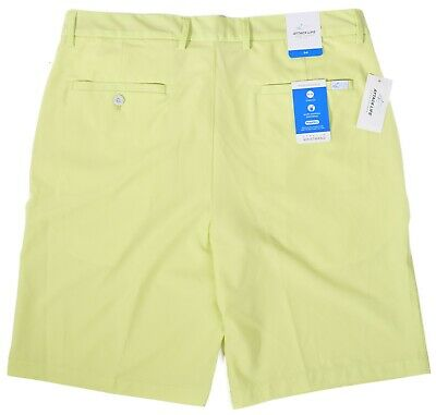 Greg Norman Mens $55 Performance Rapidry Stretch Wicking Golf Shorts Choose Size