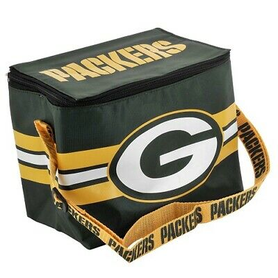 Green Bay Packers Forever Collectibles NFL Lunch Box Cooler Bag
