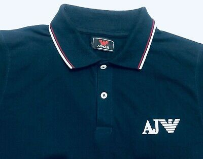 Armanis Jeans Men's - Short Sleeve Polo Shirt AJs Polo Discount price