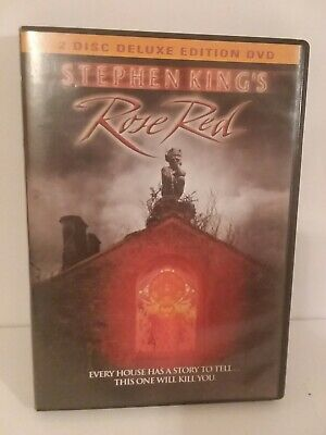 Stephen King's ROSE RED 2 Disc Deluxe  Edition DVD Set, RARE OOP CULT HORROR