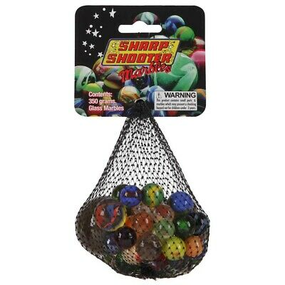 Sharp Shooter Glass Marbles 350gm 15430